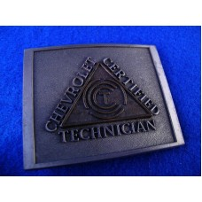 Chevrolet Certified Technician Buckle