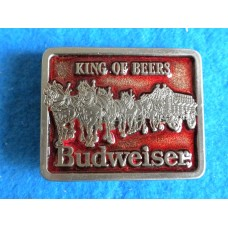 Budweiser King Of Beers Belt Buckle Small