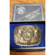 Smith & Wesson 1852-1977 125 Years Belt Buckle
