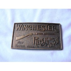 Winchester Repeating Arms Brass Belt Buckle