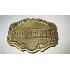 Young Guns 2 Belt Buckle