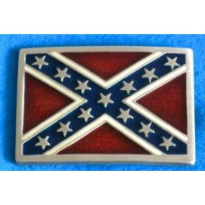 Confederate States of America Flag Belt Buckle