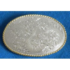 Classic Trophy Oval Belt Buckle