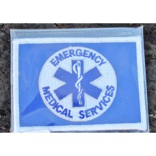 Cloth Sew-On Badge Emergency Medical Services.