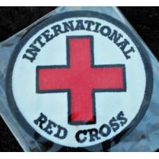 Cloth Sew-On Badge International Red Cross.