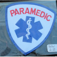 Cloth Sew-On Badge Paramedic.