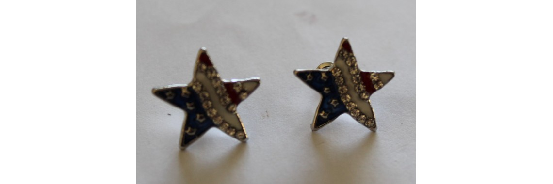 S&S Star Earrings