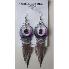 Color Magic Light Purple Earrings
