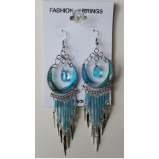 Color Magic Turquoise Earrings