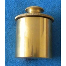 Brass Oil Tub with Lubrication Rod