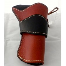 Handmade Eldorado Holster in Range Tan & Black RH: