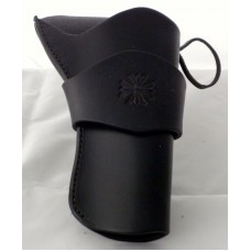 "Handmade Eldorado Holster Indian Cross Design in Black 5"" RH:"
