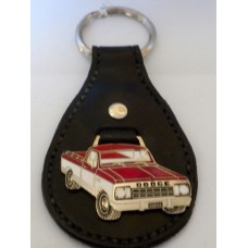 Handmade Leather Dodge Pick Up Key Fob