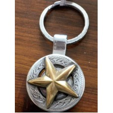 Texas Star Concho Key Fob.