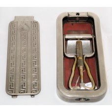 First Series Rolls Safety Razor 1927 Steel Box.