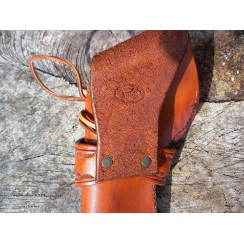 Handmade Holster Remington 1858 Border Tool Design in Medium