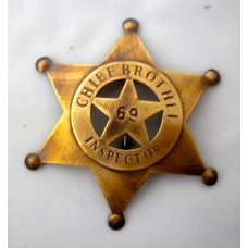 Chief Brothel Inspector Badge