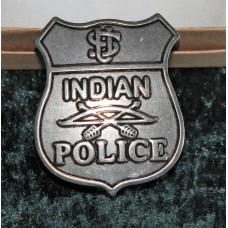 Indian Police Badge Pre Owned.