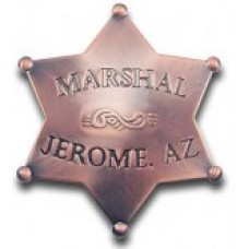 Marshal Jerome, AZ Badge