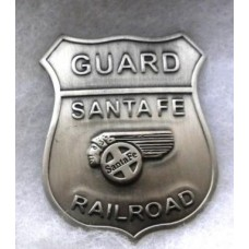 Guard Santa Fe Railroad