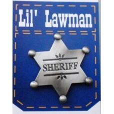 Lil Lawman Sheriff Badge