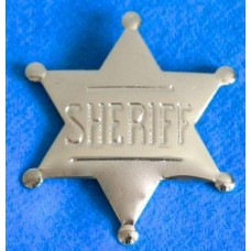 Sheriff Silver Badge