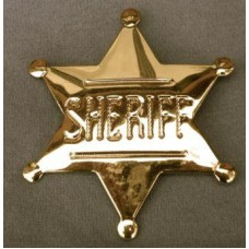 Sheriff Gold Badge