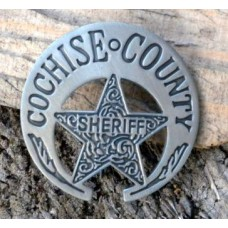 Chochise County Sheriff Badge