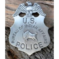 BIA Police Badge
