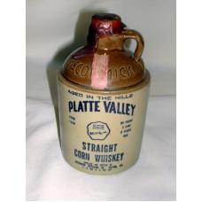 One Pint Mc Cormick Straight Corn Whiskey Stone Jar 1974