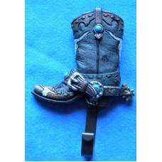Cowboy Boot Coat Hook