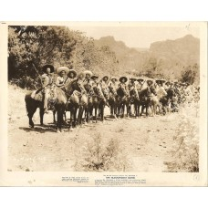 The Magnificent Seven cast of Bandits on horses 1960 western movie photo 9073
