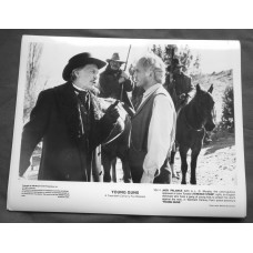 YOUNG GUNS 20TH CENTURY FOX PROMO STILLS Jack Palance & Terence Stamp