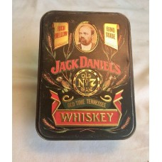 Jack Daniel's Old no.7 Tennessee Whiskey Tin Box.