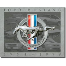 Mustang-35th Anniversary Tin Sign