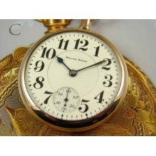 Magnificent & Rare South Bend 227 Grade Pocket Watch from 1912