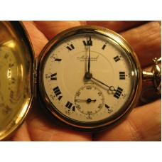 15 Jewel size 12 Admiral in a 20 yr hunter case double sunk dial