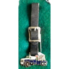 Chevy Tow Truck Watch Fob With Leather Strap