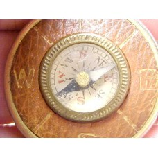 Vintage Miniature Compass Watch Fob. Norfolk Motor Co.