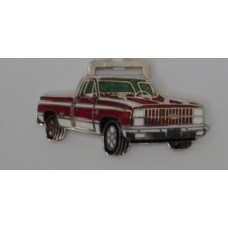 Chevrolet Chevy Red Pick-Up Truck Watch Fob