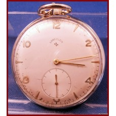Antique Lord Elgin 21 Jewel Size 10 Pocket Watch 1950