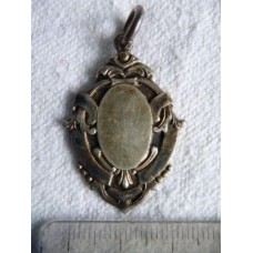 Vintage Birmingham Sterling silver Watch fob charm dated 1947. 7 Grams