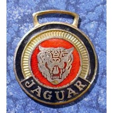 Jaguar Face Car Logo Pocket Watch Fob