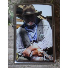 Zippo Lighter Cowboy Regulator on Horse