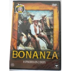 Bonanza 8 Episodes on 2 DVD's